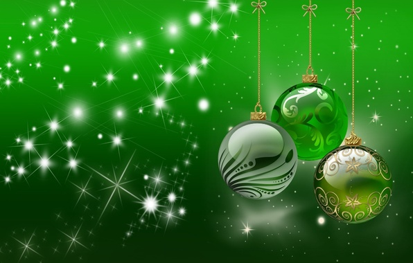 Picture balls, rays, holiday, pattern, toys, Shine, ball, bow, stars