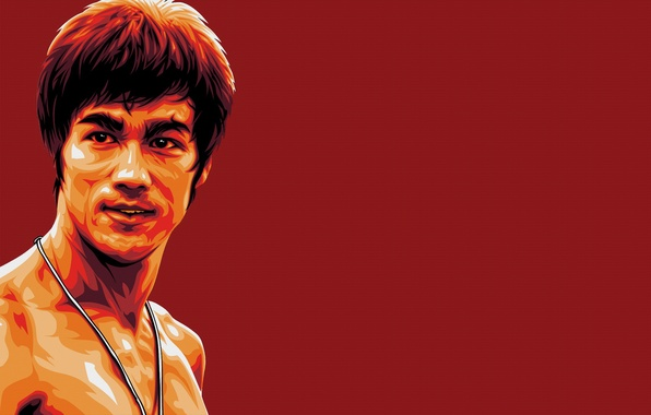 Picture red, memory, figure, master, legend, Bruce Lee, bruce lee