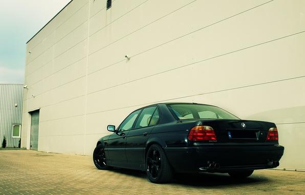 Picture tuning, BMW, drives, classic, Boomer, bmw e38, 750il