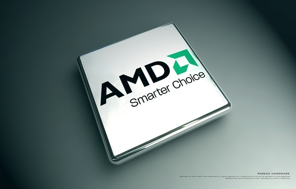 Picture AMD, firm, processor, brand