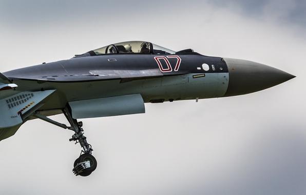 Picture fighter, cabin, Su-35, jet, multipurpose, super-maneuverable
