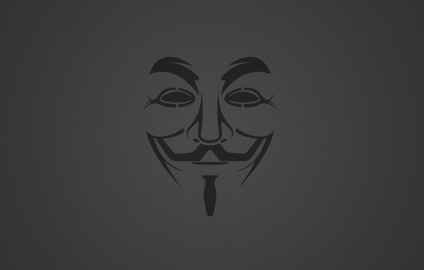 Picture Minimalism, Background, Mask, Anonymous, Anonymous, Guy Fawkes, Granular