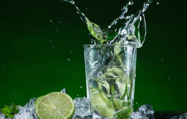 wallpaper ice drink mojito cocktail lime mojito mint