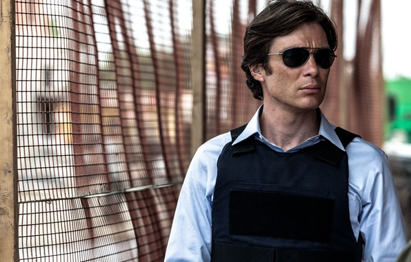 Picture portrait, actor, Cillian Murphy, vest