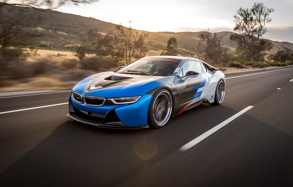 Picture car, in motion, Vorsteiner, tuning, BMW i8