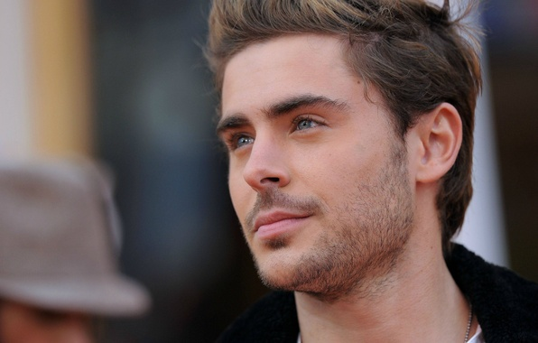 Picture look, face, hair, actor, male, beard, guy, actor, Zac Efron, Zac Efron