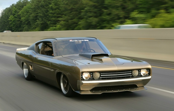 Picture Ford, tuning, muscle car, hardtop, Torino, '1969, formal, 2-door