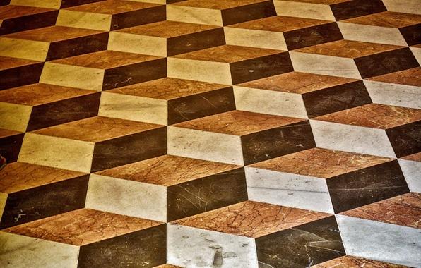 Picture texture, squares, steps