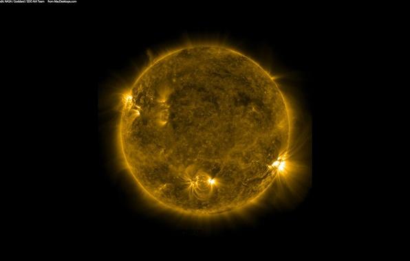 Picture stars, sun, cosmos