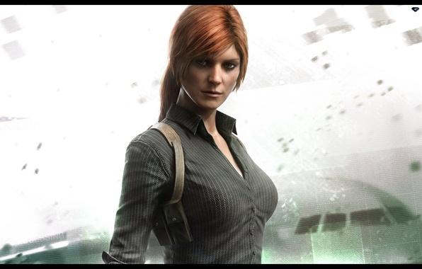Picture girl, the game, girl, game, Splinter Cell Blacklist