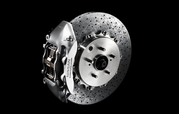 Picture nissan, disk, Nissan, gtr, caliper