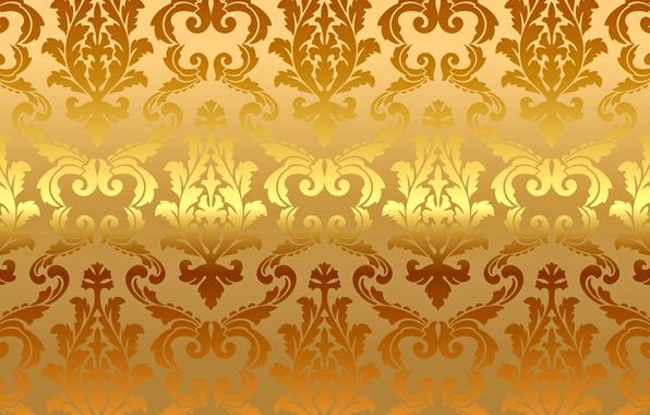 Picture background, gold, pattern, vector, golden, ornament, vintage, background, pattern, gradient