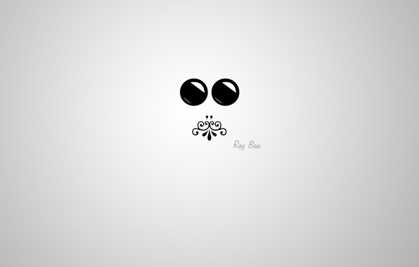 Picture eyes, face, glare, pattern, minimalism, mouth, mini, silhouette, minimal, glasses, Blik, ornament, mini, widescreen Wallpaper, ...