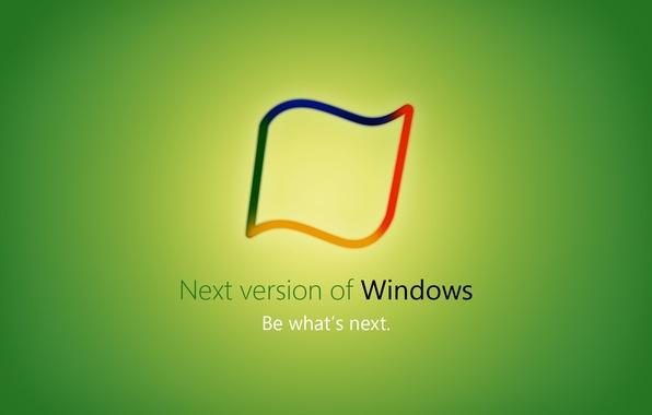 Picture green, windows, Hi Tech