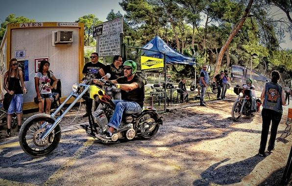 Picture motorcycles, motorcycle, Harley Davidson, bike, motorcycle, stories, Spain., big twin club, ispanii, bke