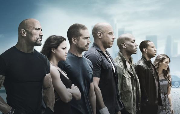 Picture Jordana Brewster, Seven, Cars, the, Mia, Men, Girls, and, Wallpaper, Family, Women, Vin Diesel, Paul …