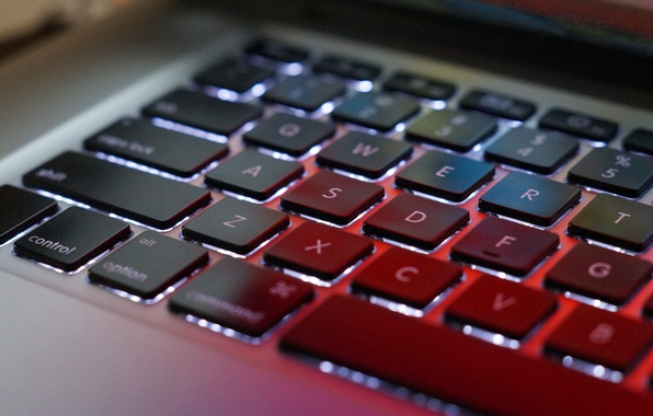 Picture apple, mac, macbook, keyboard