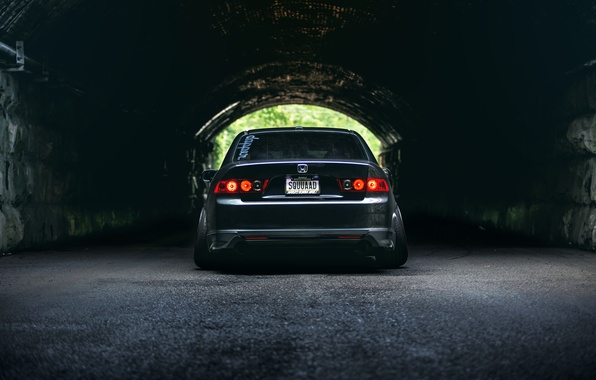 Picture Honda, tunnel, accord, stance, Acura TSX