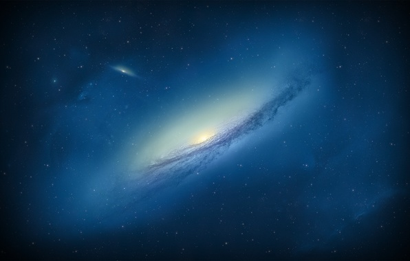 Picture space, stars, galaxy, Galaxy NGC3190