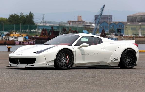 Picture Ferrari, supercar, Ferrari, 458 Spider, LB Performance