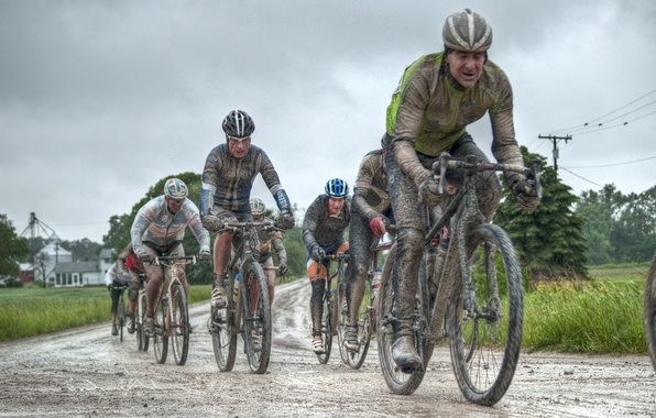 Picture road, bike, race, dirt, hdr, road, bike, race, CONE-AZALIA DIRT ROAD RACE
