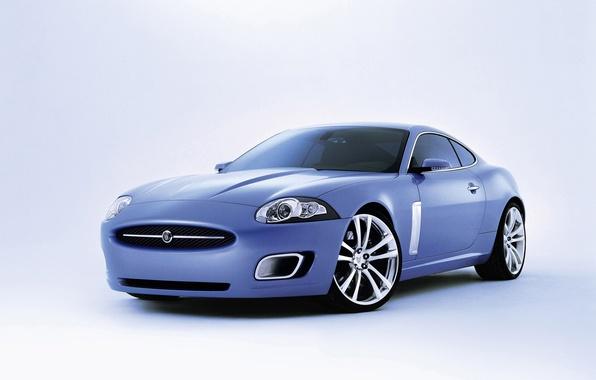Picture coupe, Jaguar, white background, Jaguar, Coupe, Advanced