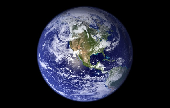 Picture photo, planet, Earth, NASA