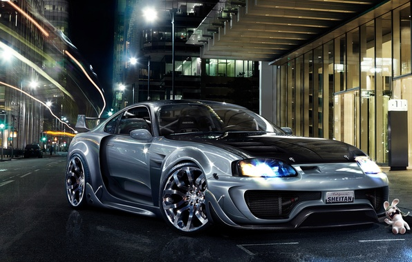 Picture tuning, photoshop, supra, toyota