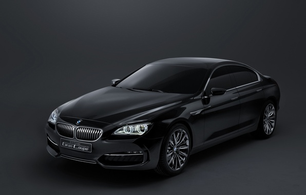 Picture bmw, concept, coupe, gran