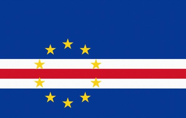 Picture Stars, Flag, Horizontally, Guinea-Bissau, Cape Verde