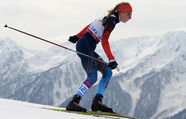Picture biathlon, Sochi 2014, champion, Paralympic games, to overcome yourself, Alena Kaufman
