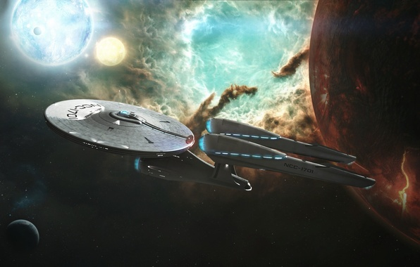 Star Trek Into Darkness Wallpapers: Wallpaper Space, Enterprise, Star Trek, Into Darkness
