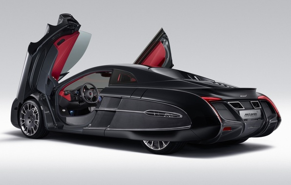 Picture Concept, background, McLaren, door, the concept, supercar, rear view, McLaren, spec.ordering, X-1, X-1
