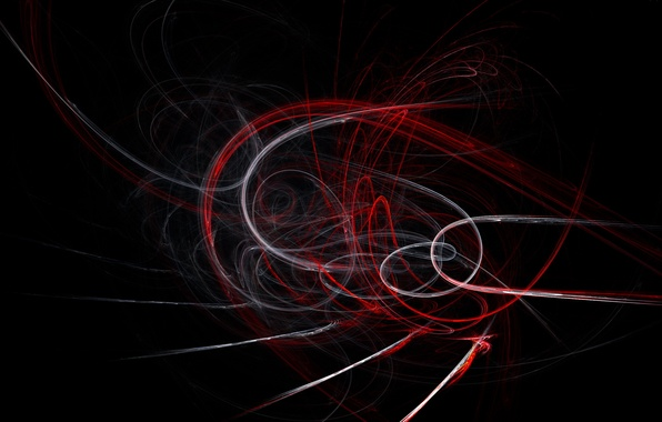 Picture rays, red, tornado, white, vortices