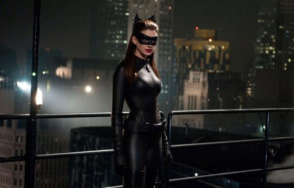 Picture batman, Batman, the dark knight rises, anne hathaway, cat woman