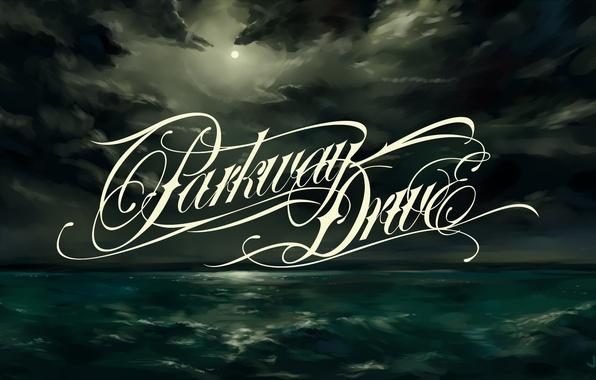 Photo Wallpaper Metalcore Sea Figure Night Logo Band Parkway Drive