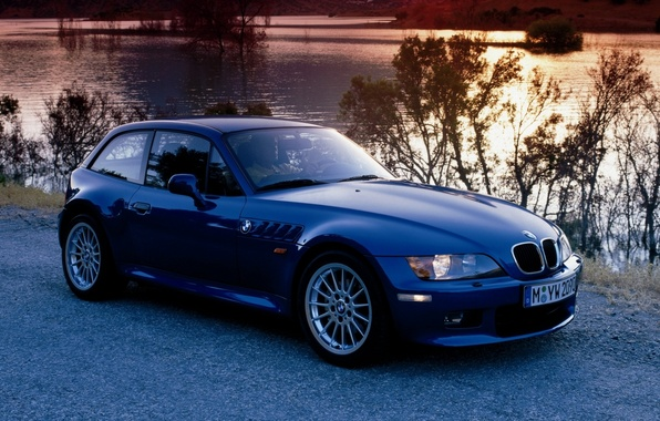 Picture BMW, BMW, Coupe, the front, Зет3, 2.8
