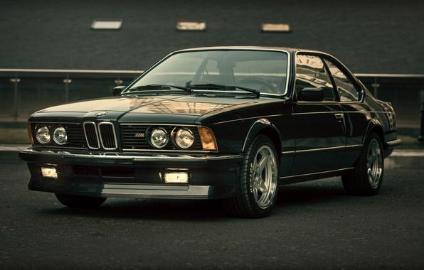 Picture BMW, black, E24, CSi, M635