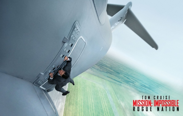 Picture the plane, the situation, agent, poster, the rise, Tom Cruise, Tom Cruise, Ethan Hunt, Mission: …