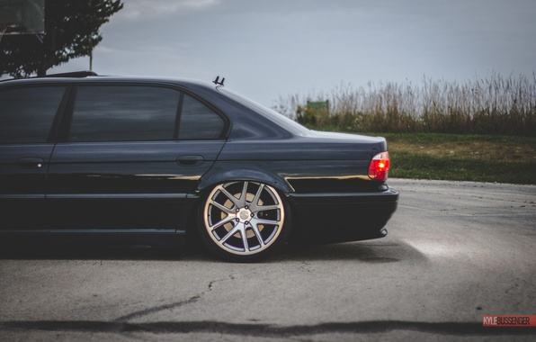 Picture BMW, Boomer, BMW, tuning, Stance, E38, 7iL