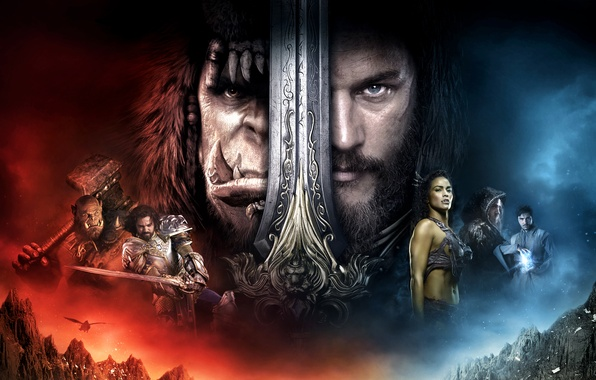 Picture Girl, Fantasy, Warcraft, Orc, Legendary Pictures, Men, Lion, Paula Patton, EXCLUSIVE, Lady, Sword, Human, King, …