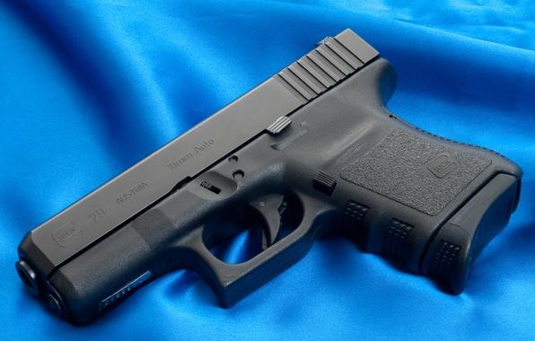 Picture Gun, Austria, Wallpaper, Trunk, Background, Weapons, Gun, Glock, Glock, Wallpapers, Canvas, Weapons, Blue