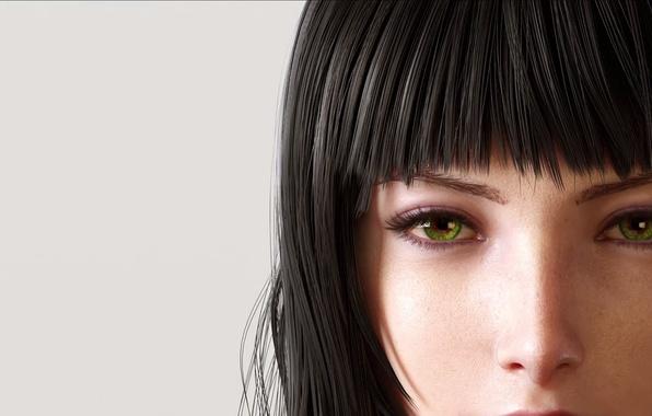Picture girl, brunette, Final Fantasy, Final Fantasy XV