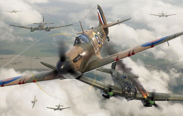 ww2 dogfights While a dogfight can't be reduced entirely to the distinctions between two  fuel  tanks that were becoming common on european and us aircraft by ww ii.