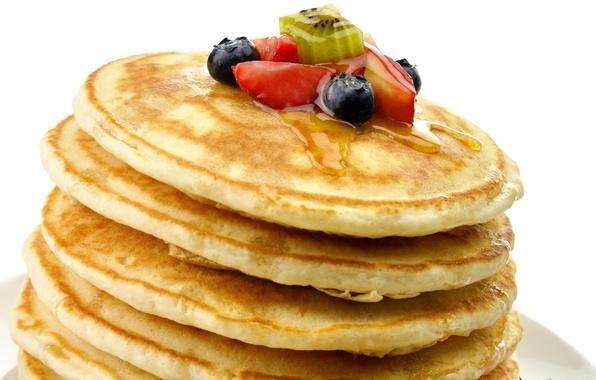 Picture berries, food, kiwi, strawberry, fruit, honey, honey, dessert, food, sweet, sweet, 1920x1080, strawberry, fruits, dessert, …
