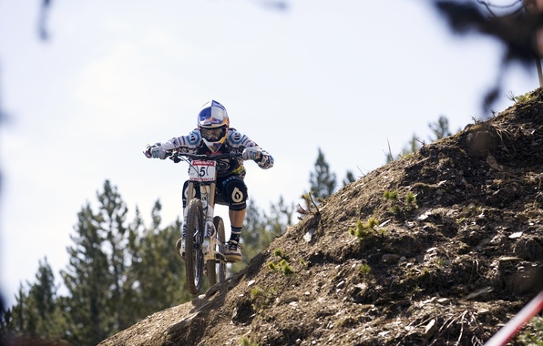 Picture red, bull, mtb