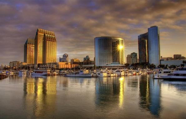 Picture california, San Diego, sunrise