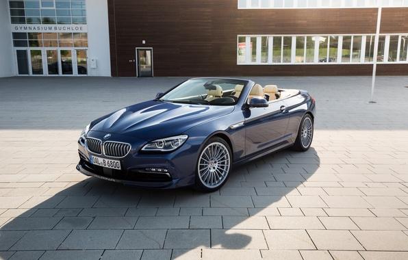 Picture BMW, BMW, convertible, Cabrio, F12, Alpina, Bi-Turbo, 2015, Edition 50