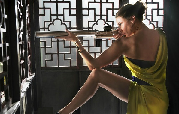 Picture Mission: Impossible - Rogue Nation, Mission impossible: rogue nation, Rebecca Ferguson, Ilsa, Rebecca Ferguson