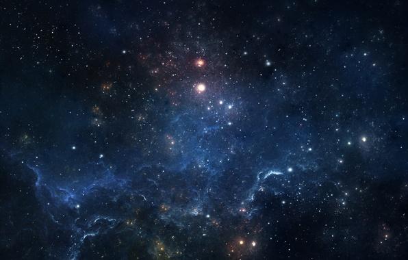 Picture glow, stars, nebula